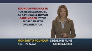 Onder Law Firm TV Spot, 'Monsanto Roundup Legal Helpline' - Thumbnail 2