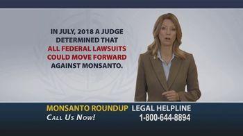 Onder Law Firm TV Spot, 'Monsanto Roundup Legal Helpline' - Thumbnail 3