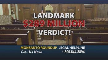 Onder Law Firm TV Spot, 'Monsanto Roundup Legal Helpline' - Thumbnail 4