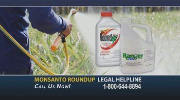 Onder Law Firm TV Spot, 'Monsanto Roundup Legal Helpline'