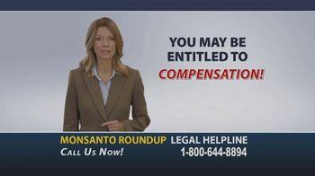 Onder Law Firm TV Spot, 'Monsanto Roundup Legal Helpline' - Thumbnail 8