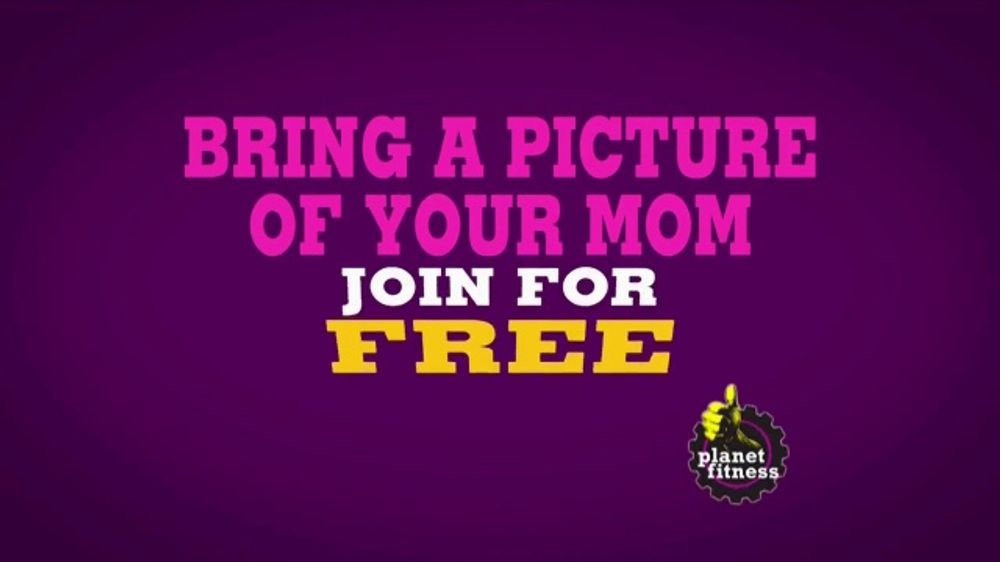 Planet Fitness Mother S Day Sale Tv Commercial Bring In