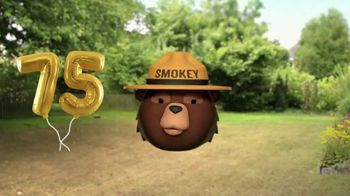 Smokey Bear Campaign TV Spot, 'Smokey Bear's 75th Birthday' Featuring Jeff Foxworthy