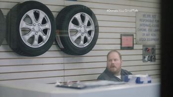 FosterMore.org TV Spot, 'Donate Your Small Talk: Tire Store' - Thumbnail 2