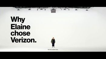 Verizon Military Offer TV Spot, 'Why Elaine Chose Verizon' - Thumbnail 3