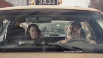 FosterMore.org TV Spot, 'Donate Your Small Talk: Taxi'