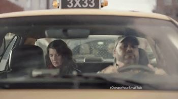 FosterMore.org TV Spot, 'Donate Your Small Talk: Taxi' - Thumbnail 1