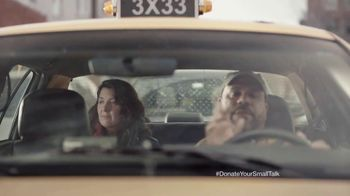 FosterMore.org TV Spot, 'Donate Your Small Talk: Taxi' - Thumbnail 8