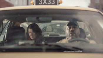 FosterMore.org TV Spot, 'Donate Your Small Talk: Taxi' - Thumbnail 2