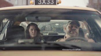FosterMore.org TV Spot, 'Donate Your Small Talk: Taxi'