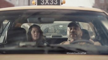 FosterMore.org TV Spot, 'Donate Your Small Talk: Taxi' - Thumbnail 5