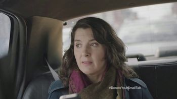 FosterMore.org TV Spot, 'Donate Your Small Talk: Taxi' - Thumbnail 6