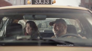 FosterMore.org TV Spot, 'Donate Your Small Talk: Taxi' - Thumbnail 7