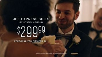 Men's Wearhouse TV Spot, 'Good On You: Designer Suits & Joe Express Suits' Song by Free - Thumbnail 6