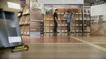 Lumber Liquidators Flooring Sale TV Spot, 'We've Got You Covered!' - Thumbnail 1