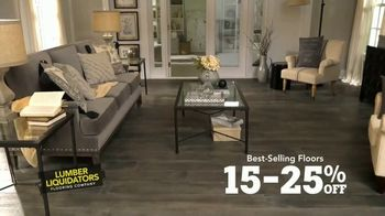 Lumber Liquidators Flooring Sale TV Spot, 'We've Got You Covered!' - Thumbnail 3
