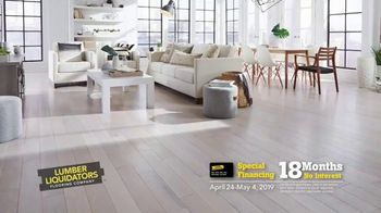 Lumber Liquidators Flooring Sale TV Spot, 'We've Got You Covered!' - Thumbnail 4