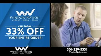 Window Nation 33 Percent Off Sale TV Spot, 'Free Blinds' - Thumbnail 1