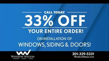 Window Nation 33 Percent Off Sale TV Spot, 'Free Blinds' - Thumbnail 3