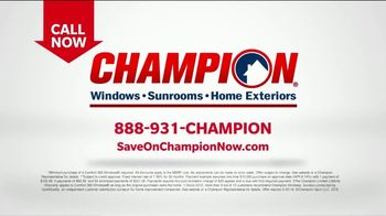 Champion Windows TV Spot, 'Time to Replace Your Windows' - Thumbnail 8
