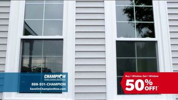 Champion Windows TV Spot, 'Time to Replace Your Windows' - Thumbnail 3