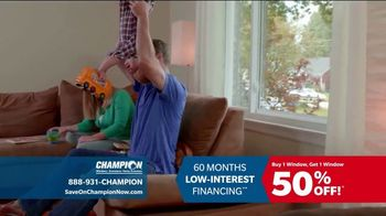 Champion Windows TV Spot, 'Time to Replace Your Windows' - Thumbnail 4