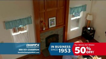 Champion Windows TV Spot, 'Time to Replace Your Windows' - Thumbnail 5