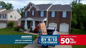 Champion Windows TV Spot, 'Time to Replace Your Windows' - Thumbnail 7