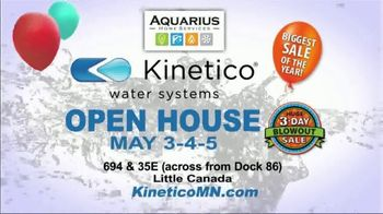Kinetico Water Systems 3-Day Blowout Sale TV Spot, 'Biggest Sale of the Year' - Thumbnail 7