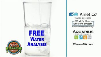 Kinetico Water Systems 3-Day Blowout Sale TV Spot, 'Biggest Sale of the Year' - Thumbnail 1