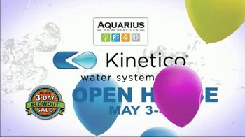 Kinetico Water Systems 3-Day Blowout Sale TV Spot, 'Biggest Sale of the Year' - Thumbnail 2