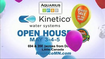 Kinetico Water Systems 3-Day Blowout Sale TV Spot, 'Biggest Sale of the Year' - Thumbnail 5