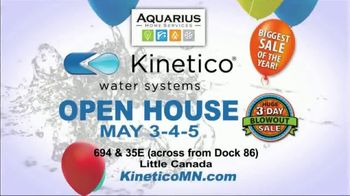 Kinetico Water Systems 3-Day Blowout Sale TV Spot, 'Biggest Sale of the Year' - Thumbnail 6