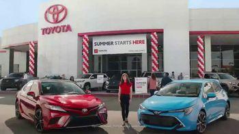 Toyota Summer Starts Here TV Spot, 'Summer's Here' [T1] - Thumbnail 1