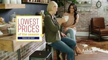 Ashley HomeStore Lowest Prices of the Season TV Spot, 'Bar Stools, Sofas & Dining Tables' Song by Midnight Riot - Thumbnail 10