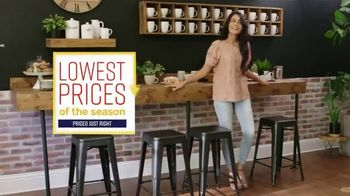Ashley HomeStore Lowest Prices of the Season TV Spot, 'Bar Stools, Sofas & Dining Tables' Song by Midnight Riot - Thumbnail 2