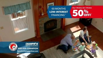 Champion Windows Comfort 365 TV Spot, 'Year Round' - Thumbnail 3