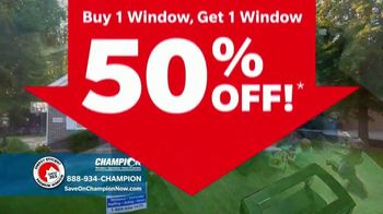 Champion Windows Comfort 365 TV Spot, 'Year Round' - Thumbnail 4