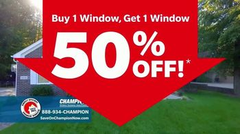Champion Windows Comfort 365 TV Spot, 'Year Round' - Thumbnail 5