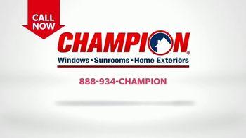 Champion Windows Comfort 365 TV Spot, 'Year Round' - Thumbnail 6
