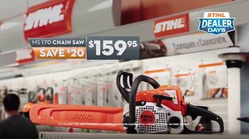 STIHL Dealer Days TV Spot, 'Real Help: MS 170 Chainsaw' - Thumbnail 6