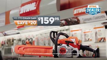STIHL Dealer Days TV Spot, 'Real Help: MS 170 Chainsaw' - Thumbnail 7