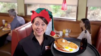Denny's Super Slam TV Spot, 'Holiday Hunger'
