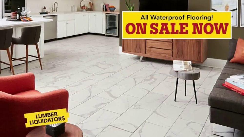 Lumber Liquidators Waterproof Flooring Sale Tv Commercial