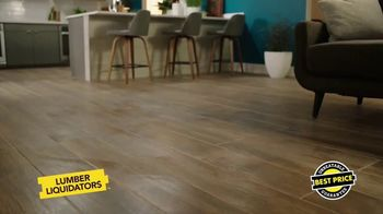 Lumber Liquidators Waterproof Flooring Sale TV Spot, 'Waterproof Flooring Deals' - Thumbnail 10