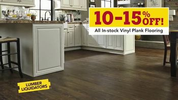 Lumber Liquidators Waterproof Flooring Sale TV Spot, 'Waterproof Flooring Deals' - Thumbnail 4