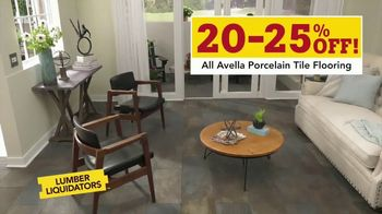 Lumber Liquidators Waterproof Flooring Sale TV Spot, 'Waterproof Flooring Deals' - Thumbnail 6