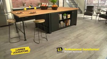 Lumber Liquidators Waterproof Flooring Sale TV Spot, 'Waterproof Flooring Deals' - Thumbnail 8
