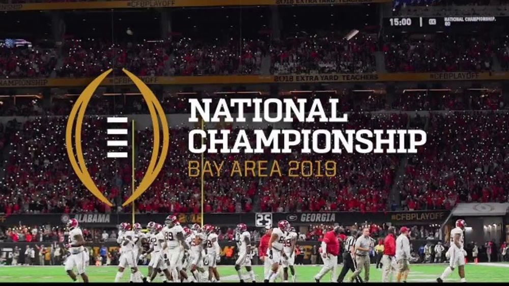 free shipping 26cf9 c679c College Football Playoff Foundation TV Commercial,  2019 AT T Playoff  Playlist Live!  - iSpot.tv