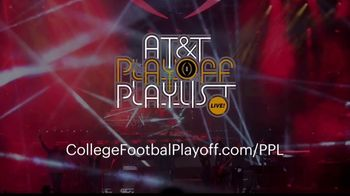College Football Playoff Foundation TV Spot, '2019 AT&T Playoff Playlist Live!' - Thumbnail 10